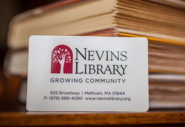 Library Cards  Nevins Library