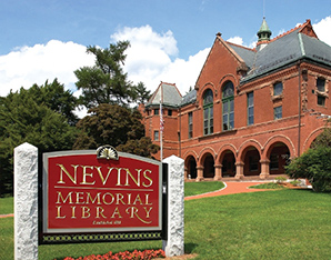 A picture of Nevins Memorial Library