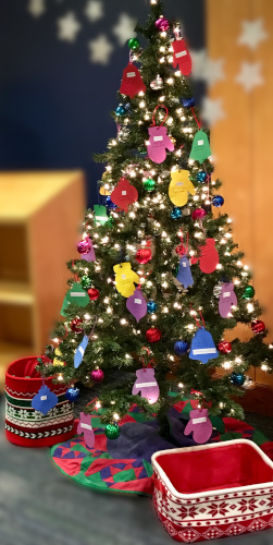 Giving Tree in the Children's Room