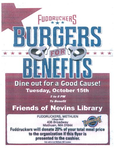 Friends' Fudrucker's Fundraiser Flyer 2019